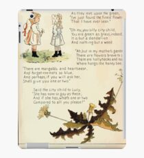 The Glad Year Round for Boys and Girls by Almira George Plympton and Kate Greenaway 1882 0020 Said the City to Lucy iPad Case/Skin