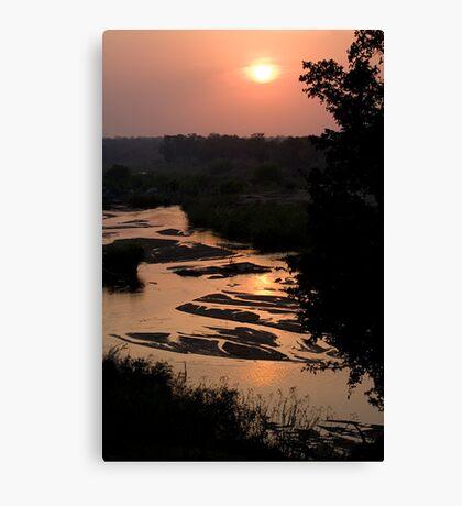 Sunrise Over Sabi River Canvas Print