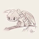 Cutie Toothless by liajung
