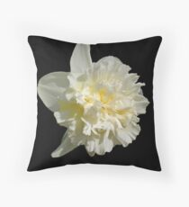 Double Daffy Throw Pillow