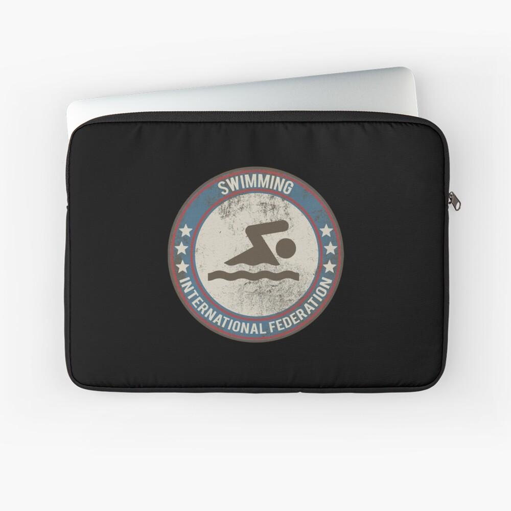 Schwimmen Schwimmen Marathon Laptoptasche