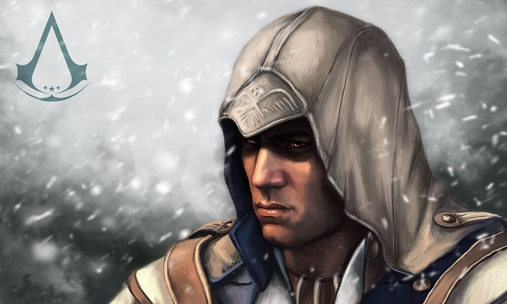 Connor Kenway by la-haine