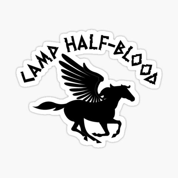 Camp Half Blood Percy Jackson Inspired Gear Sticker