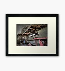 Decayed And Dismayed Framed Print