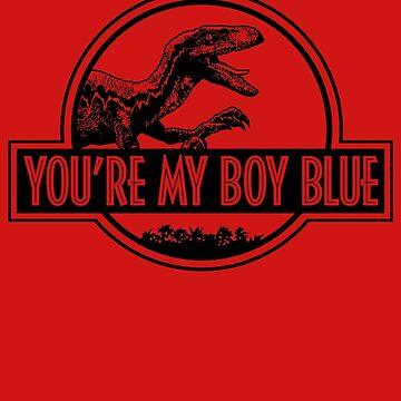 You're My Boy Blue (JP Logo B/W) by GuyDesigns