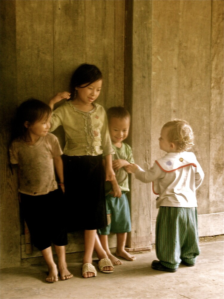 Sapa meeting of small people by thecrossy