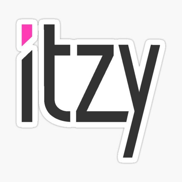 ITZY Logo Sticker