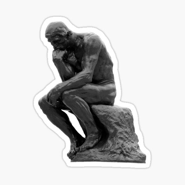 Auguste Rodin: The Thinker Sticker