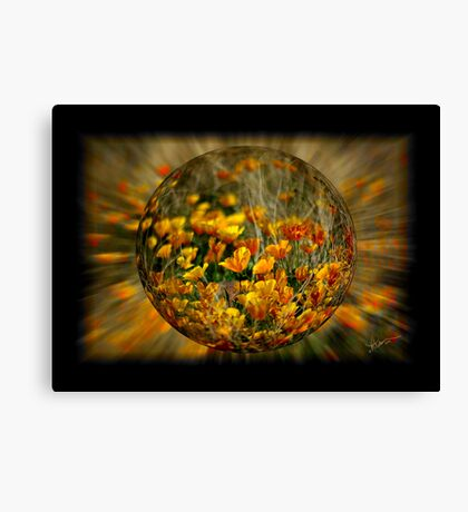 Bubble of Spring Canvas Print