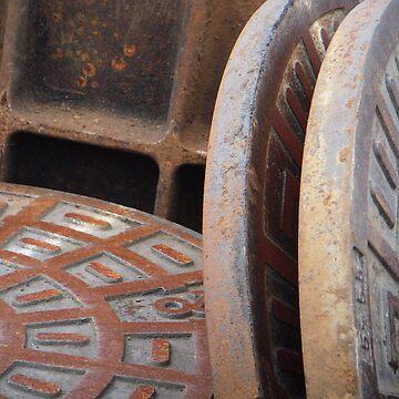 Manhole Covers by matadecoco
