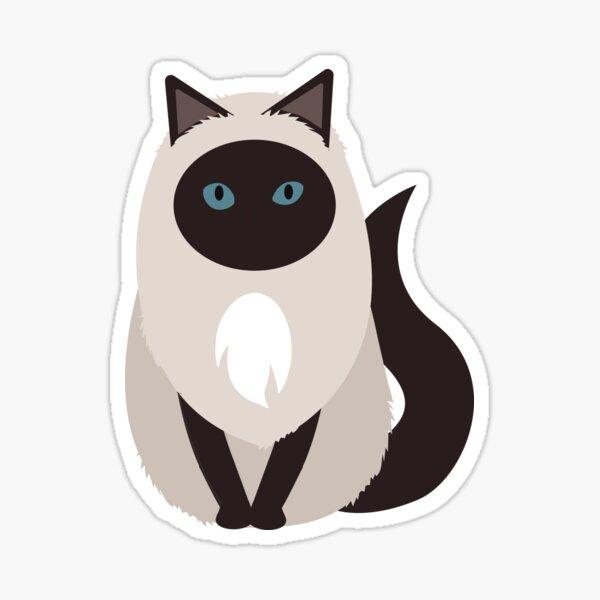 Ragdoll Cat | Birman Cat Sticker