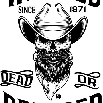 Wanted Dead or Bearded by netrok