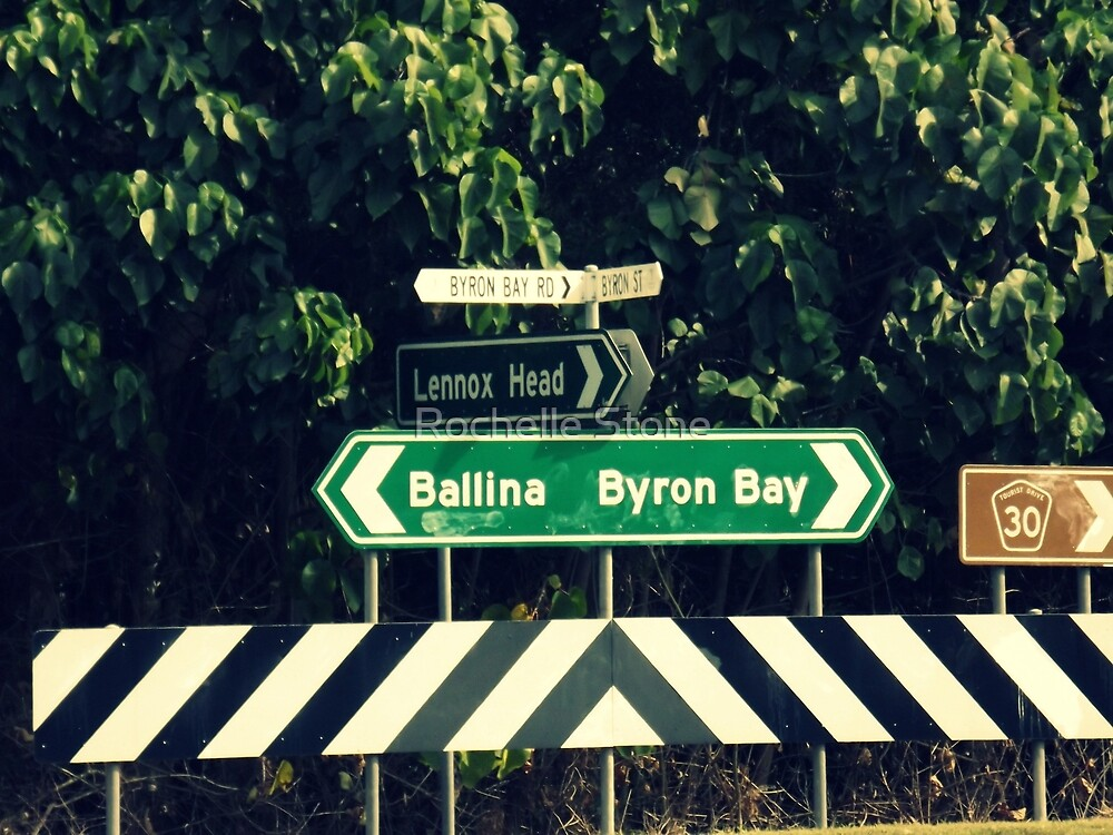 Which Way To Bryon Bay by Rochelle Stone