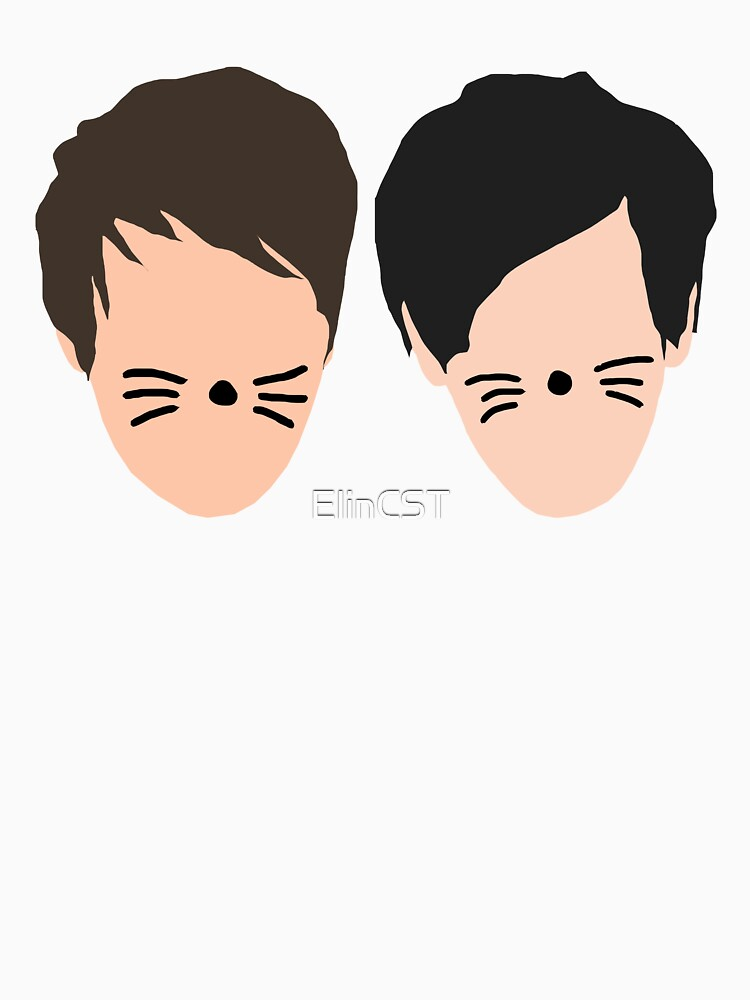 TShirtGifter presents: Phil Lester and Dan Howell (without text) | Unisex T-Shirt