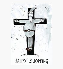 Happy Shopping Photographic Print