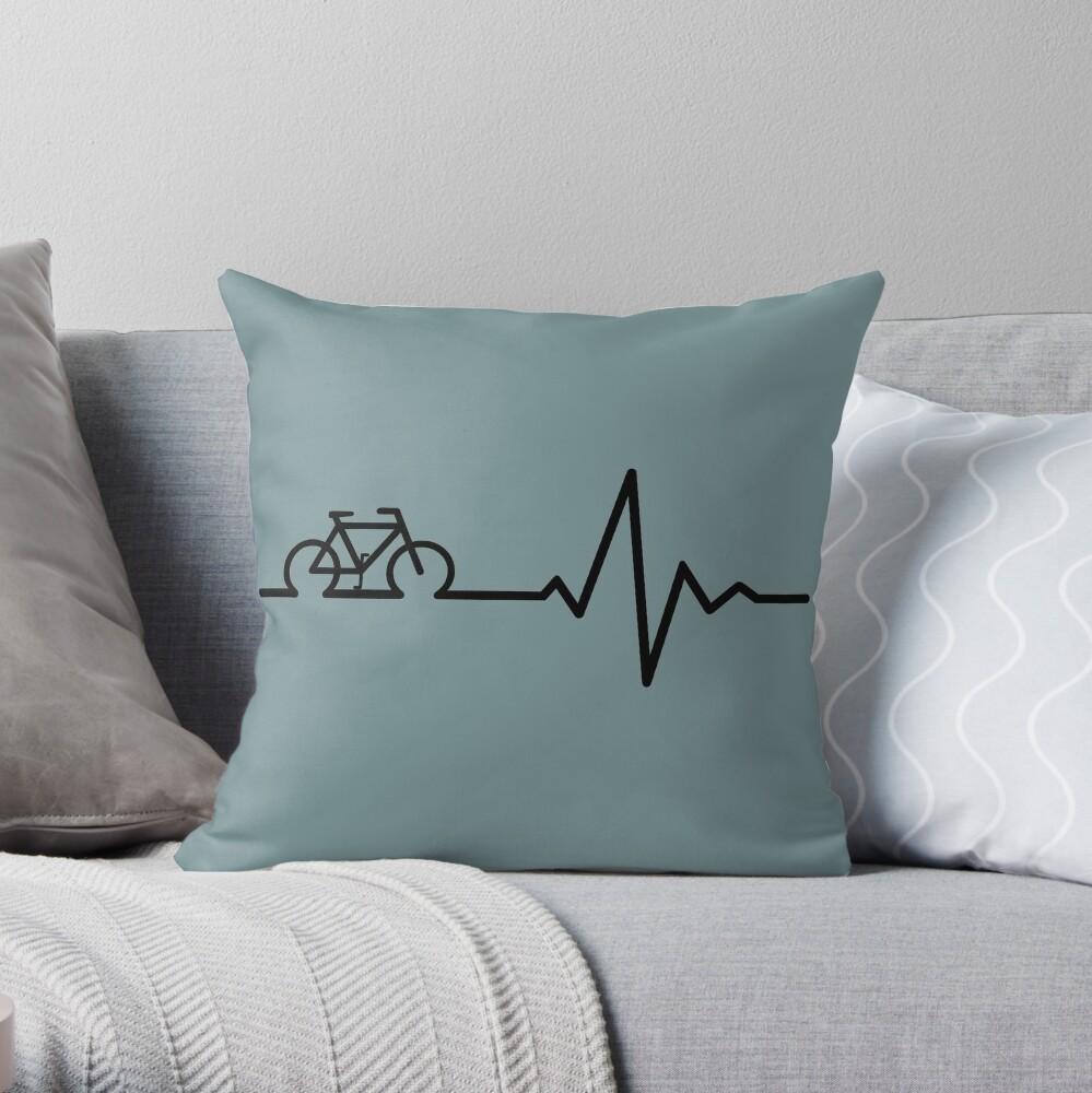 Bike Life Throw Pillow