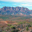 Bunyeroo Valley and Heysen Range , Flinders Ranges, South Australia by Adrian Paul