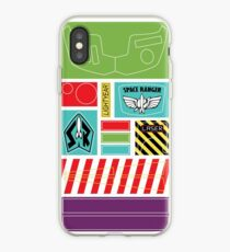 BUZZ LIGHTYEAR STICKERS KIT iPhone Case