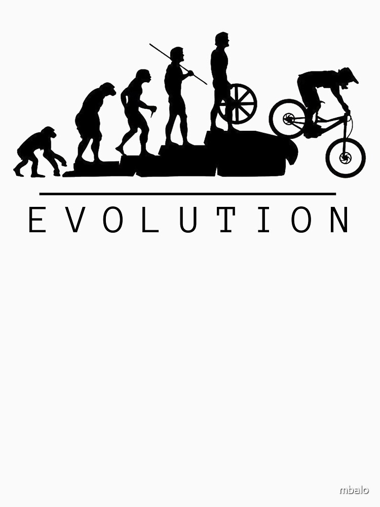 Mountain Bike Evolution by mbalo