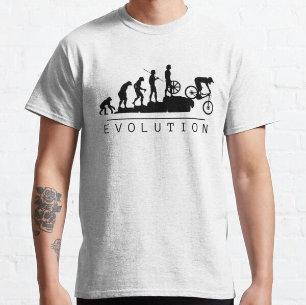 Mountain Bike Evolution Classic T-Shirt