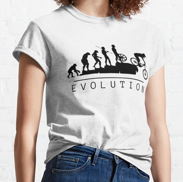 Mountain Bike Evolution Classic T-Shirt