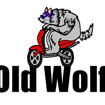 Old Wolf by imphavok