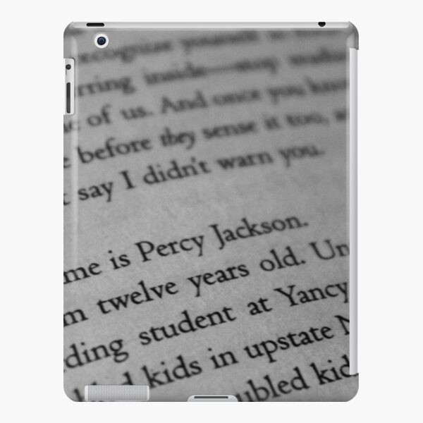 My name is Percy Jackson. iPad Snap Case