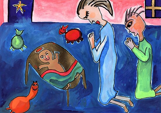 Nativity Scene by John Douglas