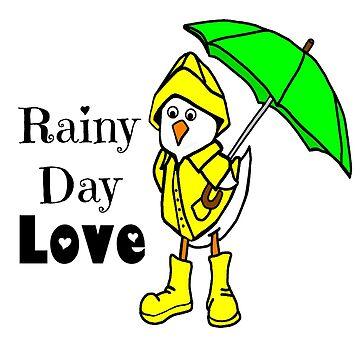 Rainy Day Duck by imphavok