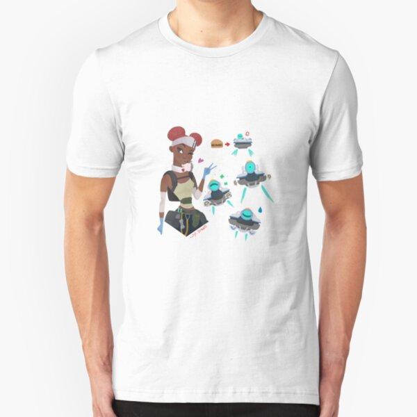 apex legends lifeline fan art Slim Fit T-Shirt