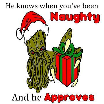 Christmas Santa Cthulhu  by imphavok