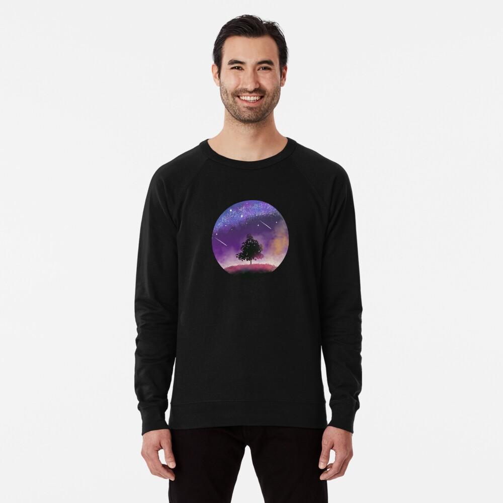 Nachthimmel Leichter Pullover
