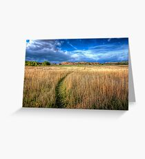 The Path Less Traveled Greeting Card