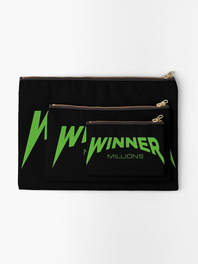 Winner - Millions  | Zipper Pouch