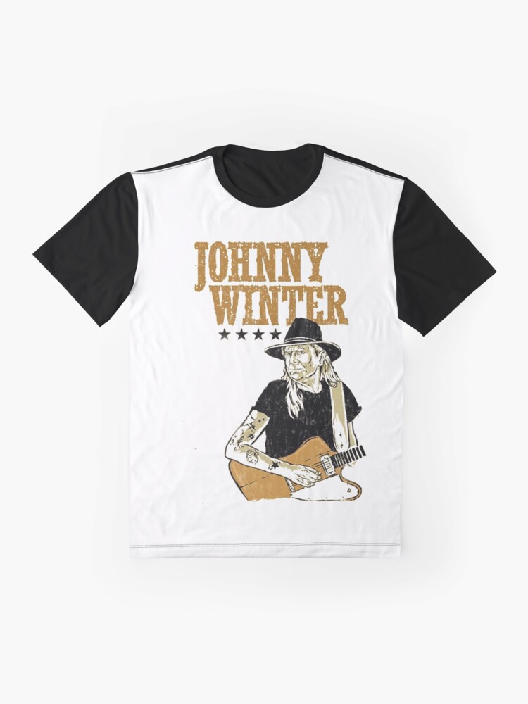 Alternate view of Johnny Winter Graphic T-Shirt