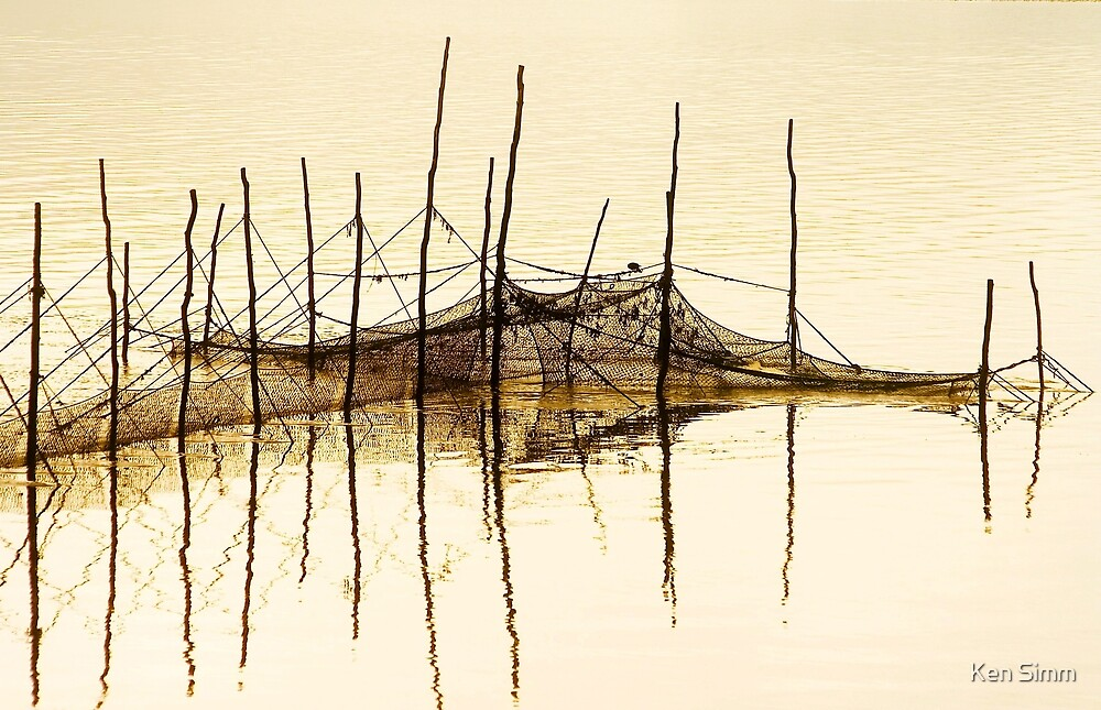 The Salmon Nets. by Ken Simm