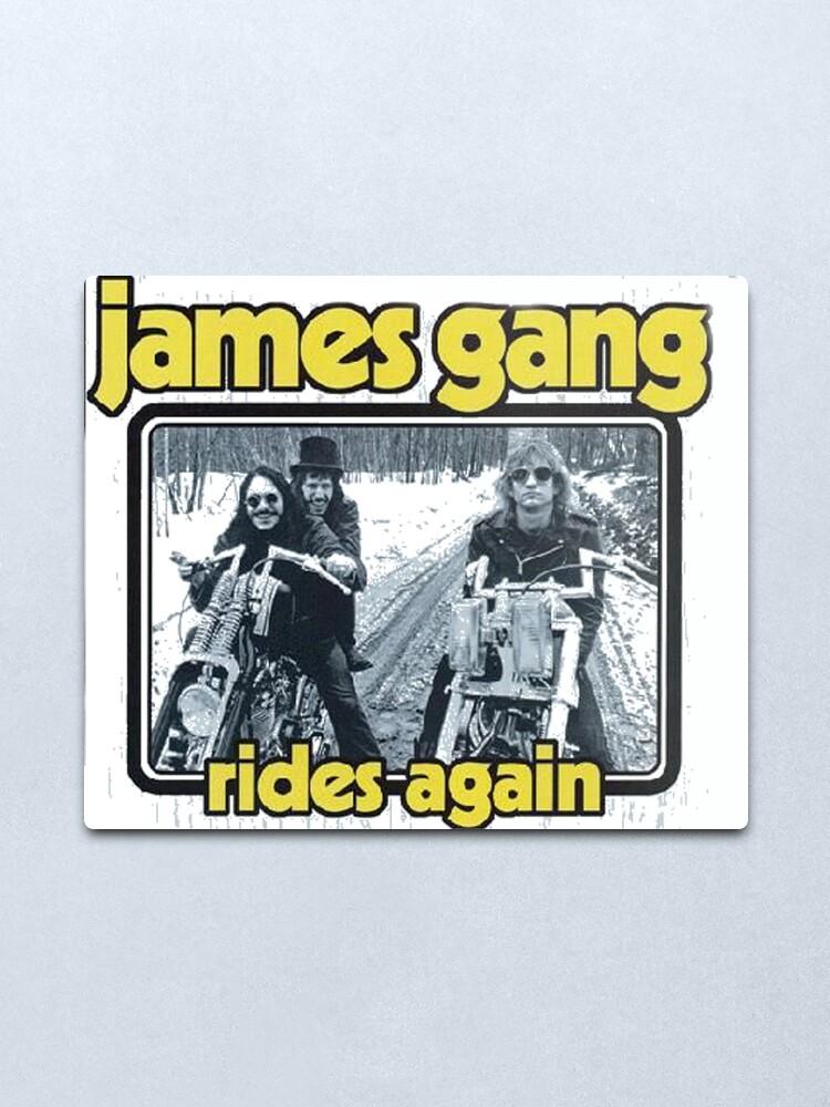 Alternate view of James Gang Metal Print