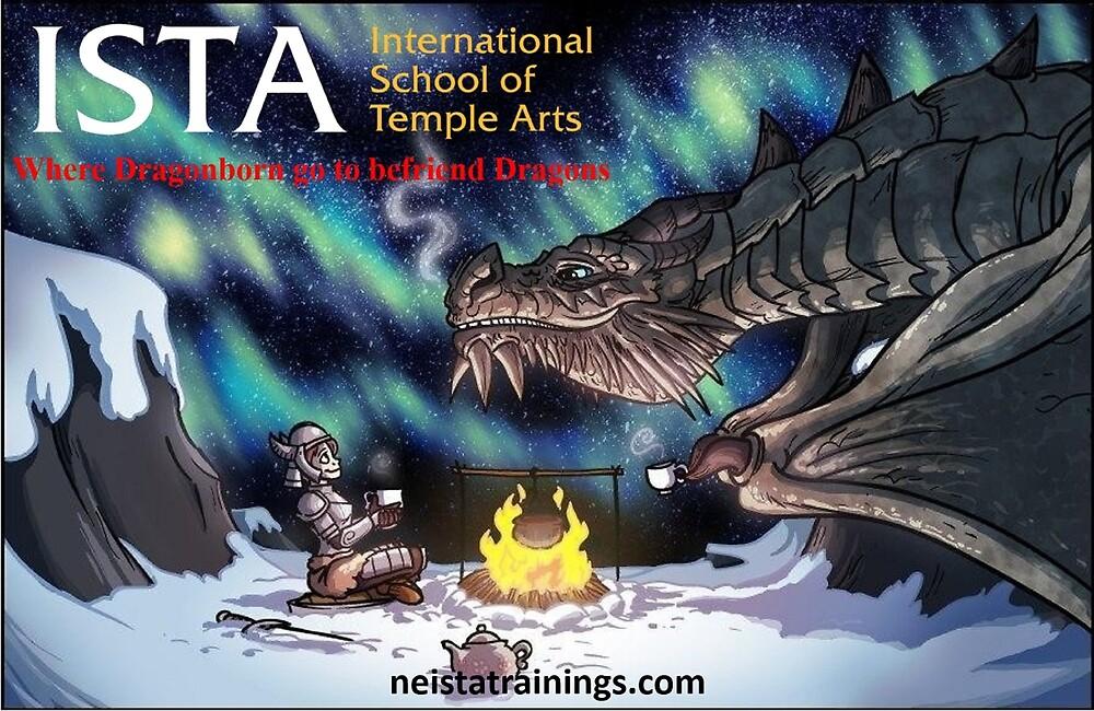 ISTA - Where Dragonborn Go To Befriend Dragons by Javi Martinez