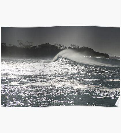 swell. redbill beach, bicheno, tasmania Poster