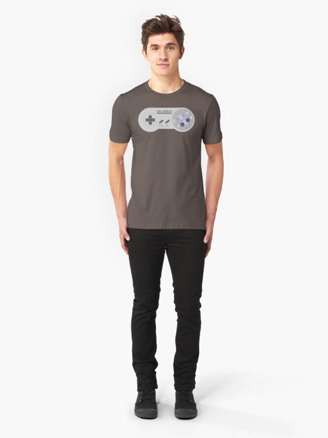 Alternate view of Rebel Controller US Slim Fit T-Shirt