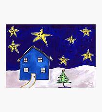 Christmas Night Photographic Print