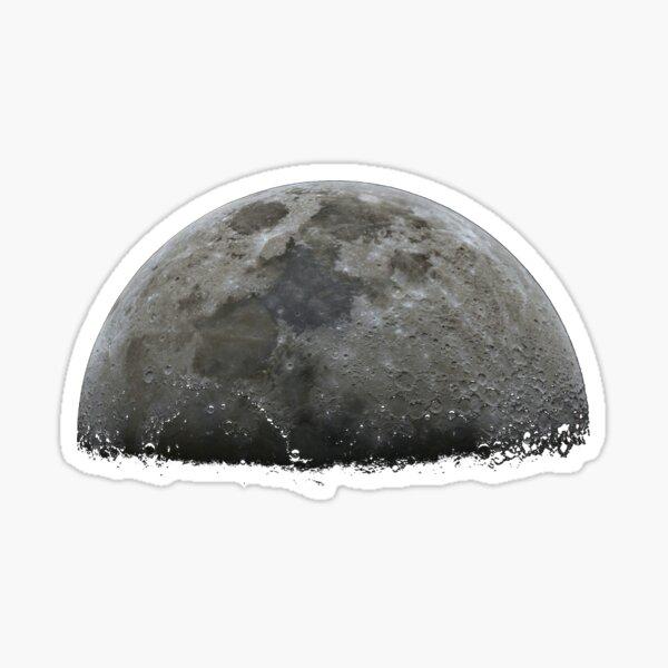 Half moon Sticker