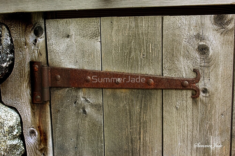 A Door on the Old Manse Boathouse by SummerJade