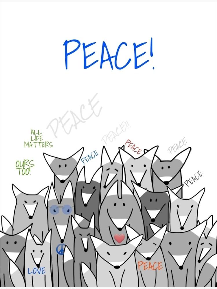 Happy Birthday! Peace! by WolfShadow27