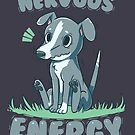Nervous Energy Greyhound by TechraNova