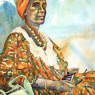 Harmony - Somali Lady in Katanning by scallyart