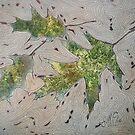 Pin Oak Leaves by linmarie