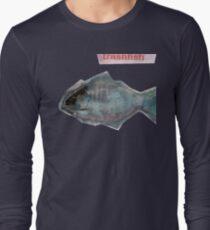 Trash Fish in Plastic Ocean Long Sleeve T-Shirt