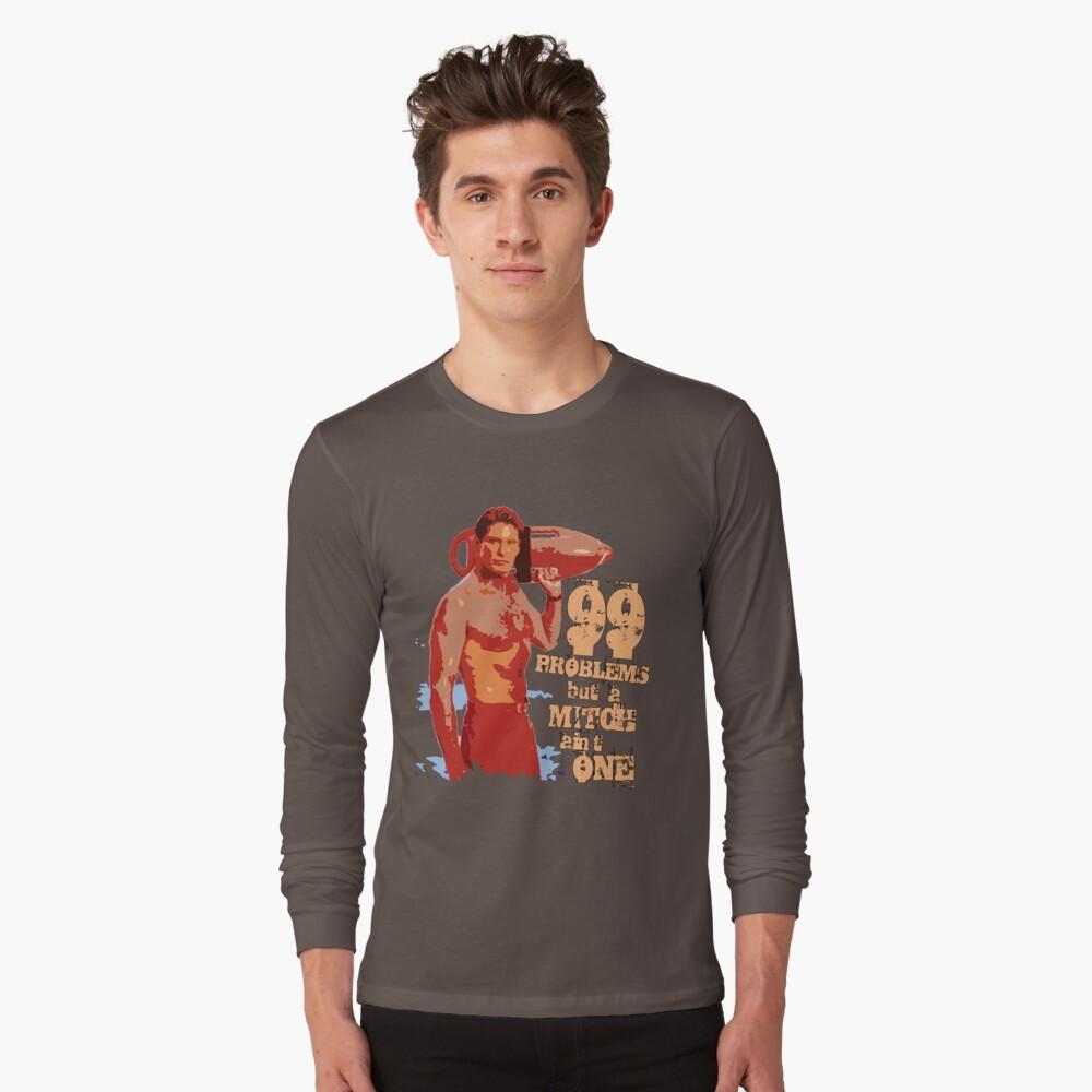 99 problemas pero un Mitch no es uno Camiseta de manga larga Front