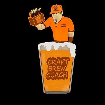 CRAFT BREW COACH by DRAWGENIUS